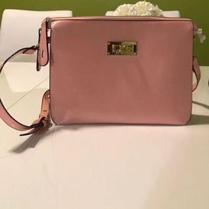 Super cute light pink satchel